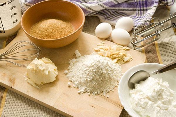 Nguyên liệu làm bánh mì nhân phô mai