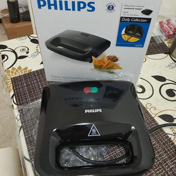 Thiết kế máy ép bánh mì Philips