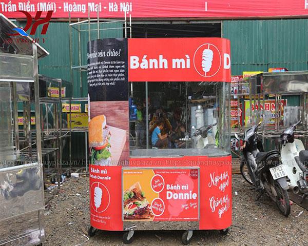 Xe bánh mì do Quang Huy sản xuất