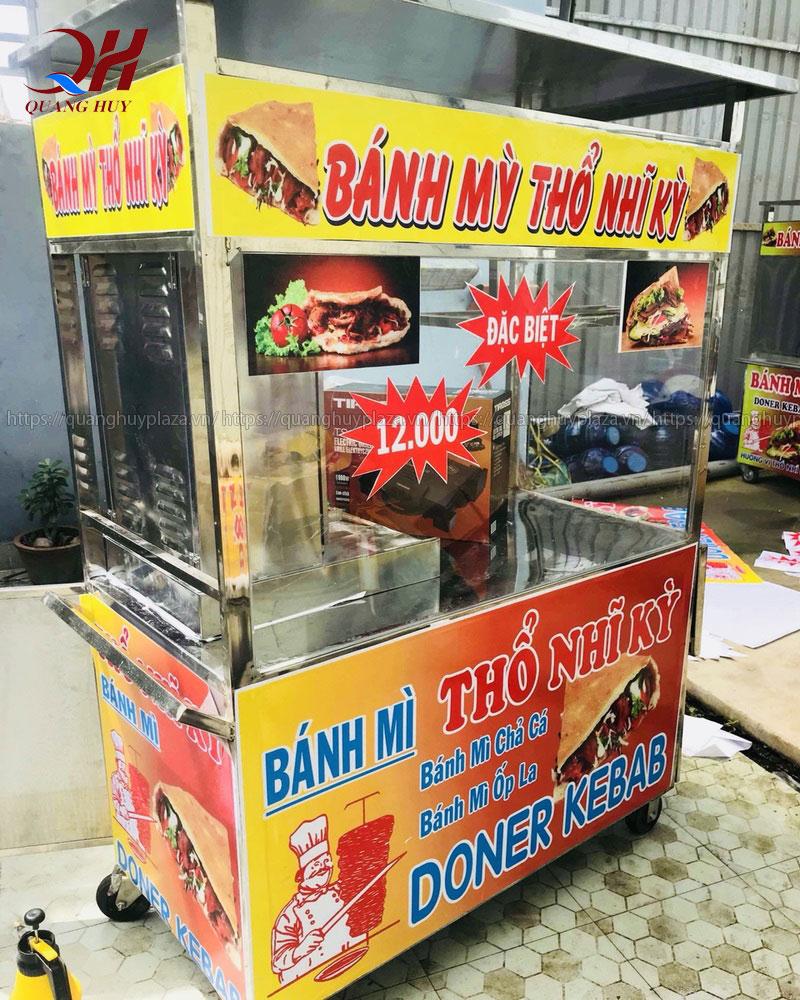 Cách chọn xe bánh mì Doner kebab phù hợp 3