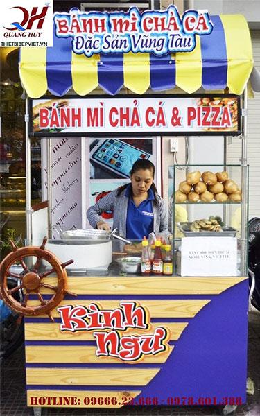 Bán bánh mì chả cá thu nhập cao