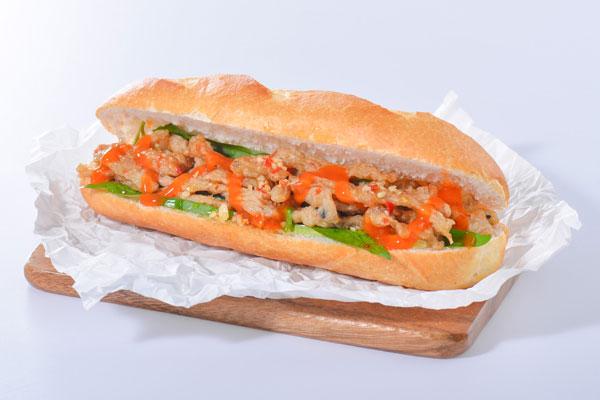 Bánh mì chả cá ngon