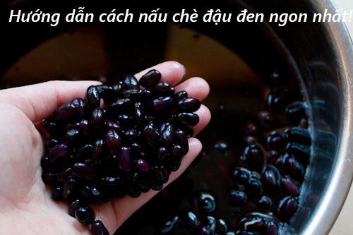 Quang Huy xin hướng dẫn đến các bạn cách nấu chè đậu đen ngon nhất!