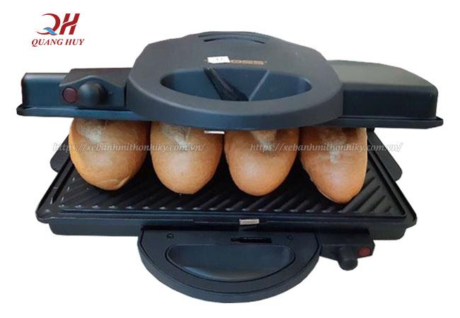 Công suất máy ép bánh mì là yếu tố lựa chọn máy ép bánh mì phù hợp