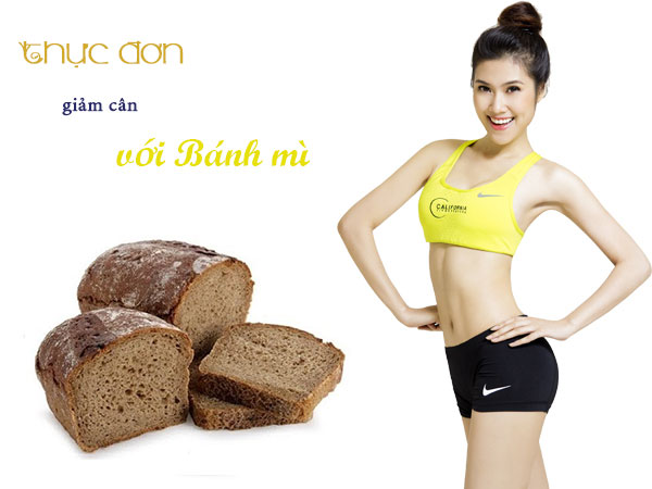 Thực đơn giảm cân với bánh mì đen
