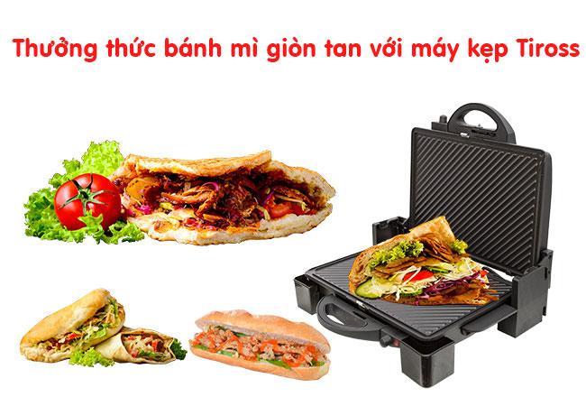 Máy kẹp nóng bánh mì Tiross