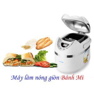 Máy làm nóng giòn bánh mì: máy ép bánh mì, lò vi sóng giúp bạn làm nóng bánh mì siêu tốc