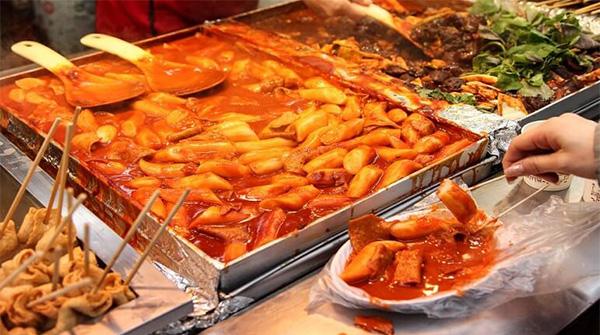 Món ăn hà quốc Tokbokki