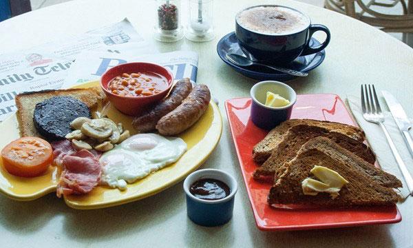 Bữa ăn sáng của người Anh
