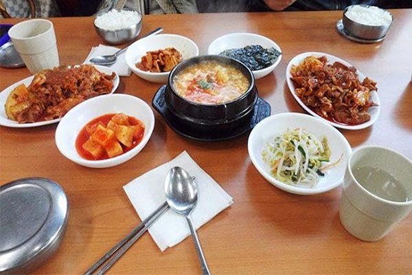 Bữa sáng của Hàn Quốc