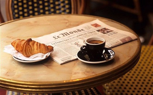 Bữa ăn sáng của người Pháp