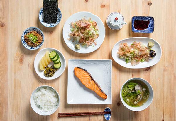 Bữa sáng của Nhật Bản