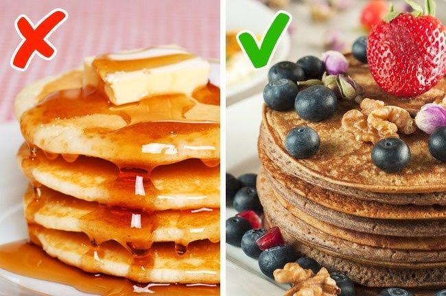 Món ăn nào nên và không nên sử dụng cho bữa sáng