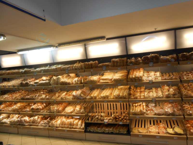 Tủ trưng bày bánh mì