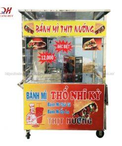 Bán xe bánh mì thịt nướng giá rẻ