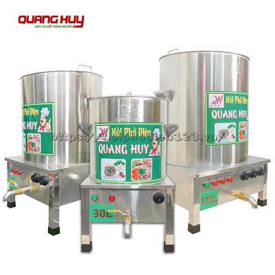 Bộ 3 nồi điện nấu phở giá rẻ tại Quang Huy