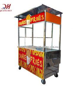Quang Huy nhận đặt xe đẩy bán khoai tây chiên theo yêu cầu