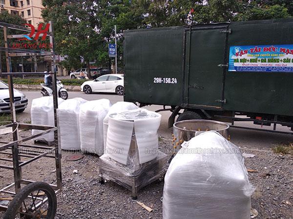 Quang Huy phân phối nồi phở toàn quốc