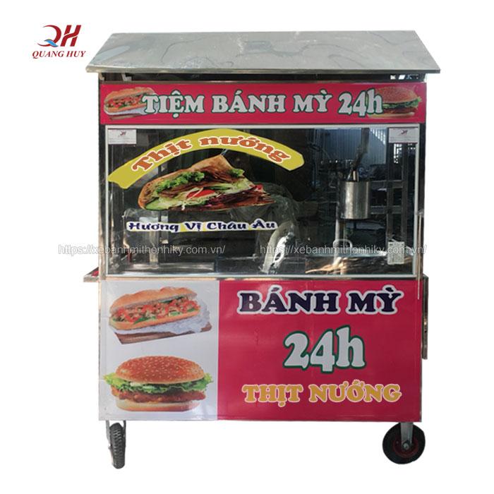 Cập nhật mẫu xe bánh mì thịt nướng mới nhất