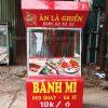 Xe bánh mì heo quay Quang Huy