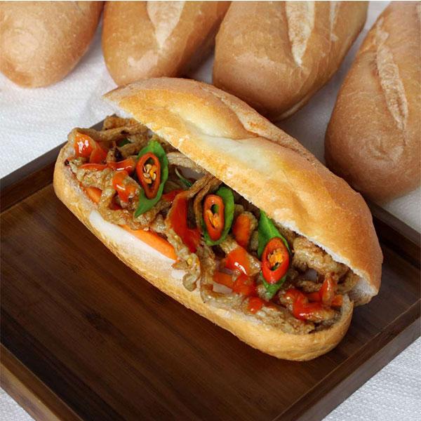Bánh mì chả cá siêu ngon