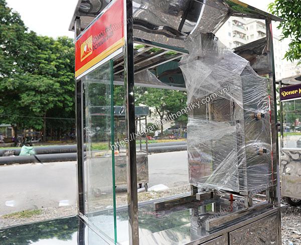 Lò nướng thịt bánh bánh mì Doner Kebab Quang Huy