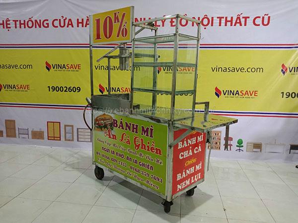 Thanh lý xe bánh mì trên các cửa hàng