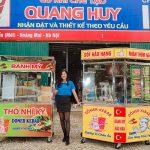Xe bánh mì tại xưởng Quang Huy
