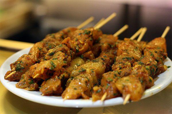 Pincho-moruno-kebab-tay-ban-nha