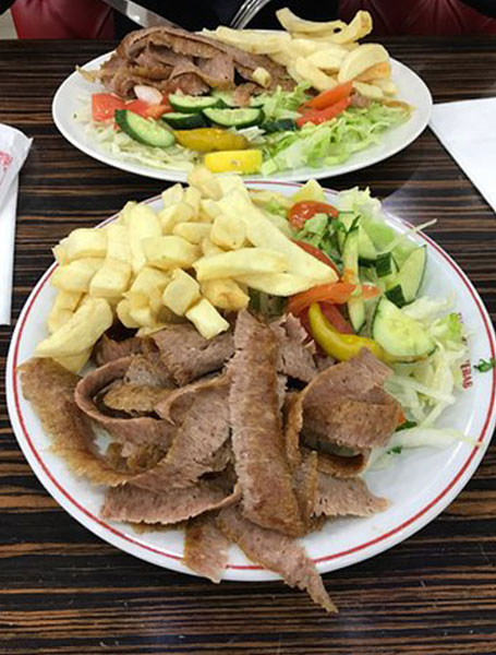 Kebab London Anh