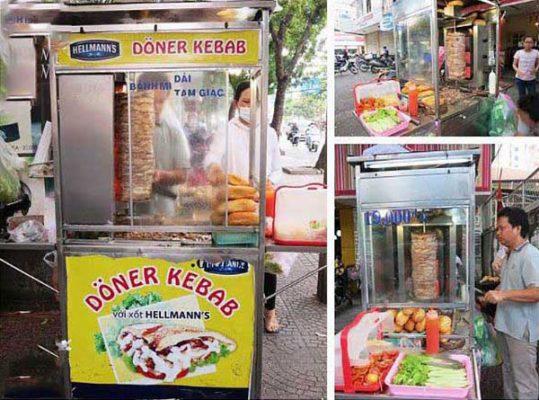 Xe bánh mì doner kebab thổ nhĩ kỳ