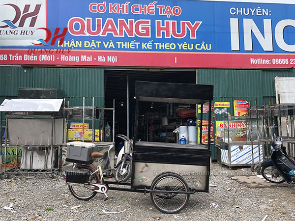 Quang Huy sản xuất và phân phối xe đạp bán hàng