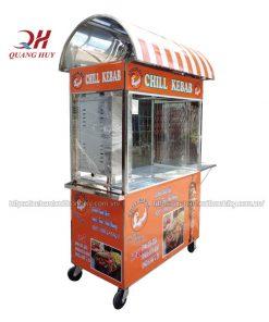 Xe bánh mì mái cong Quang Huy