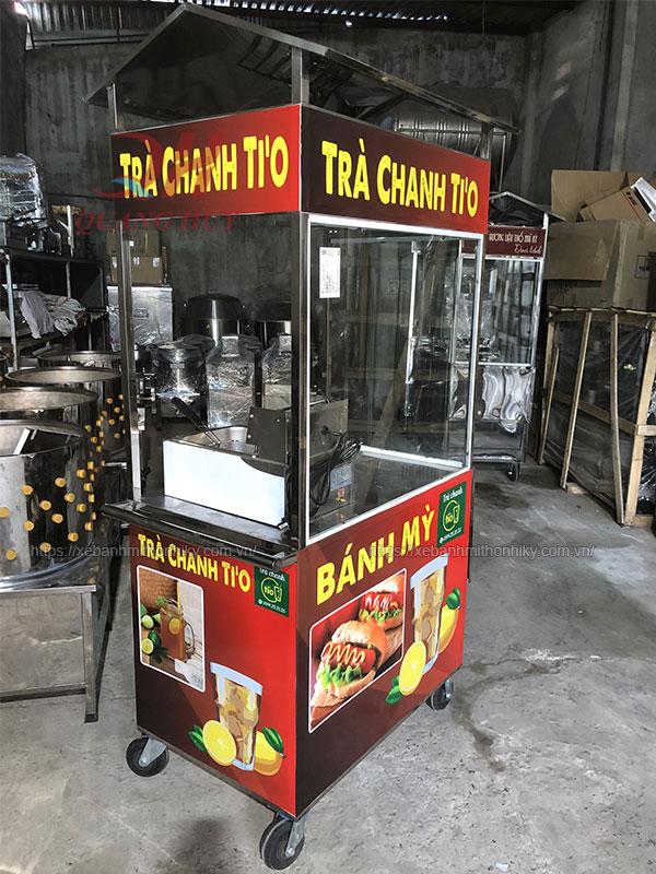 Xe bánh mì trà chanh Quang Huy