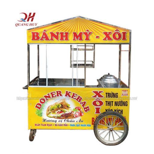 Xe bánh mì vàng Quang Huy mệnh Kim