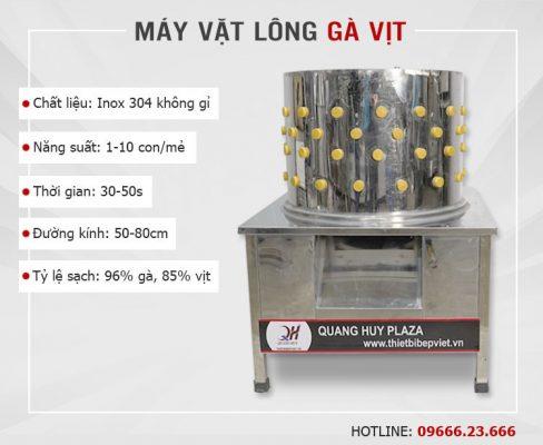 Máy nhổ lông gà vịt Quang Huy