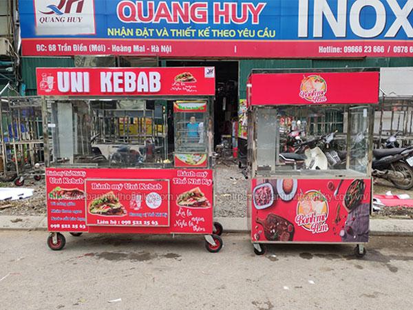 Giá xe bánh mì Quang Huy