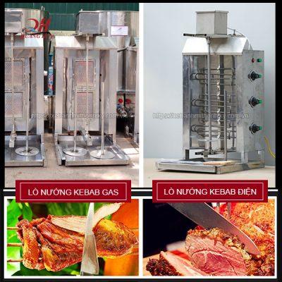 Lò nướng thịt Doner Kebab Gas-Điện