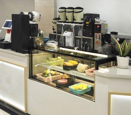 Tủ bánh kem, bánh ngọt nhỏ để bàn tiện lợi, tận dụng tối đa diện tích trưng bày