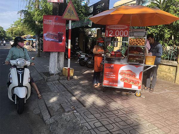 Mua xe bánh mì tại Nha Trang