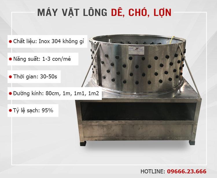 Máy vặt lông dê chó lợn tại cơ khí Quang Huy