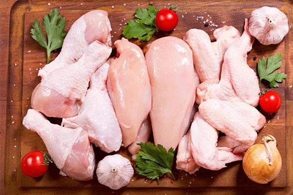 Thịt gà làm bánh mì Doner Kebab