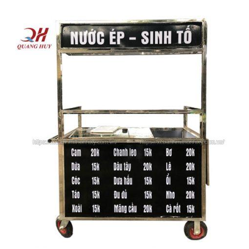 Xe bán nước ép trái cây Quang Huy