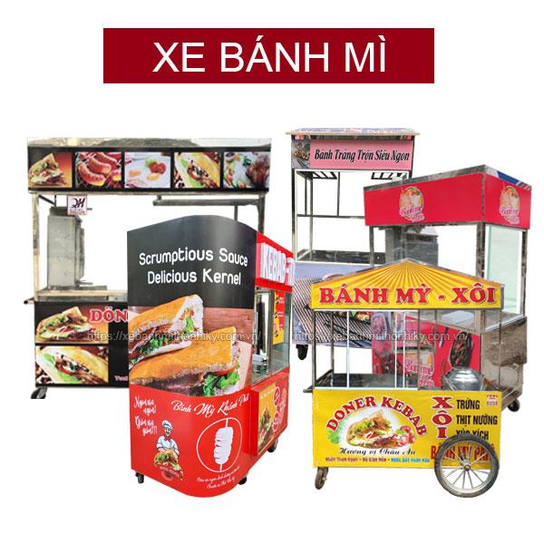Xe bánh mì Quang Huy tại Nha Trang