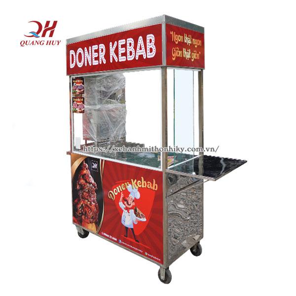 Xe đẩy bánh mì rẻ đẹp Doner Kebab