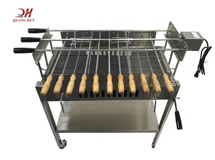 Bếp nướng thịt bằng than gia công
