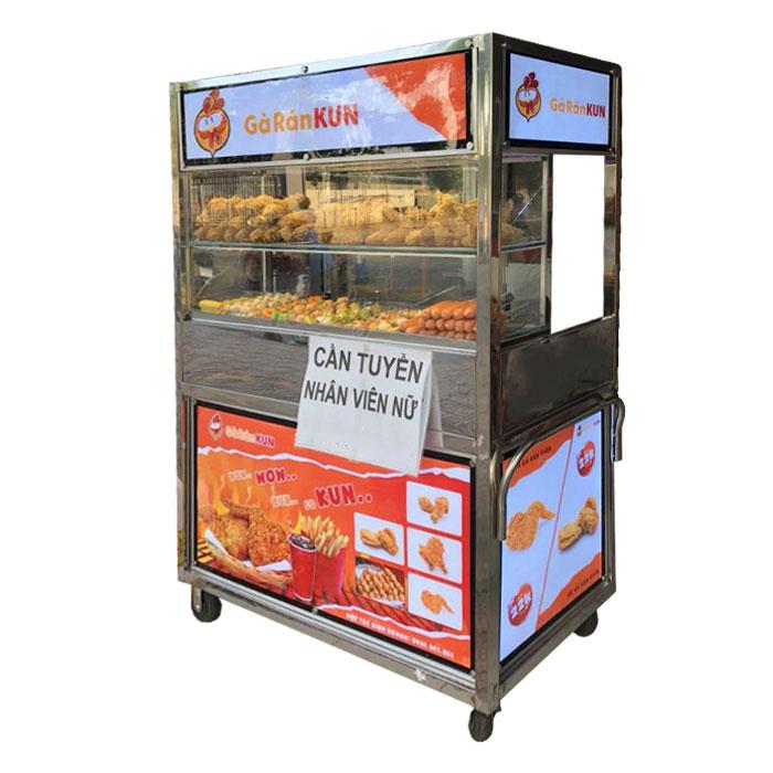 Quang Huy xe bán gà rán