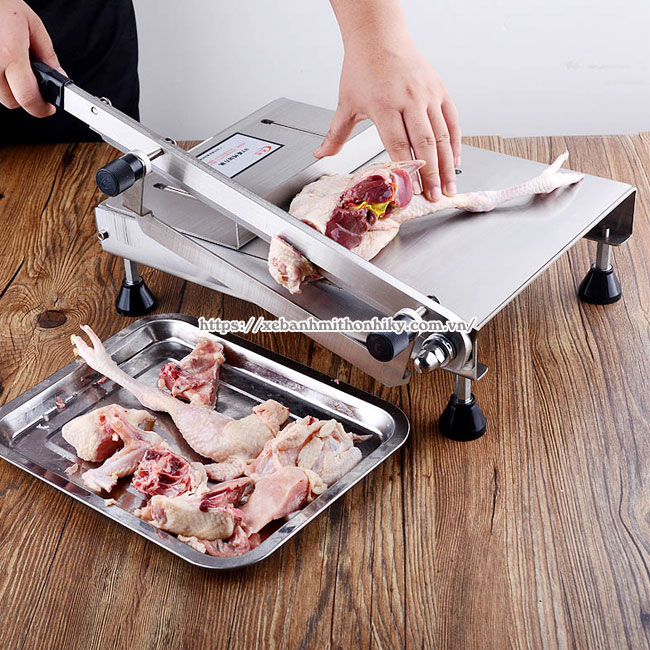 Máy chặt thịt gà cầm tay cho gia đình, nhà hàng