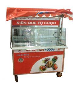 Quang Huy xe bán cá viên chiên