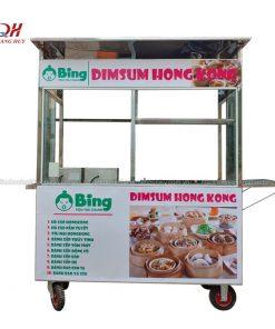 Xe bán bánh bao Quang Huy
